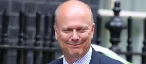 Justice Minister Chris Grayling